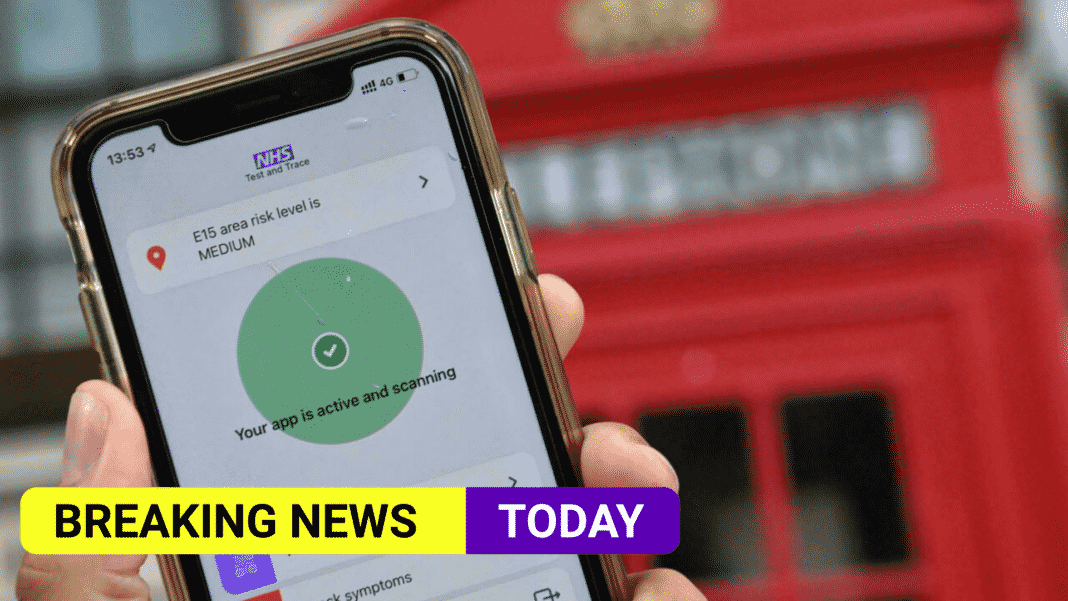 'Pingdemic' record as 689,313 alerts are sent from NHS app in a week