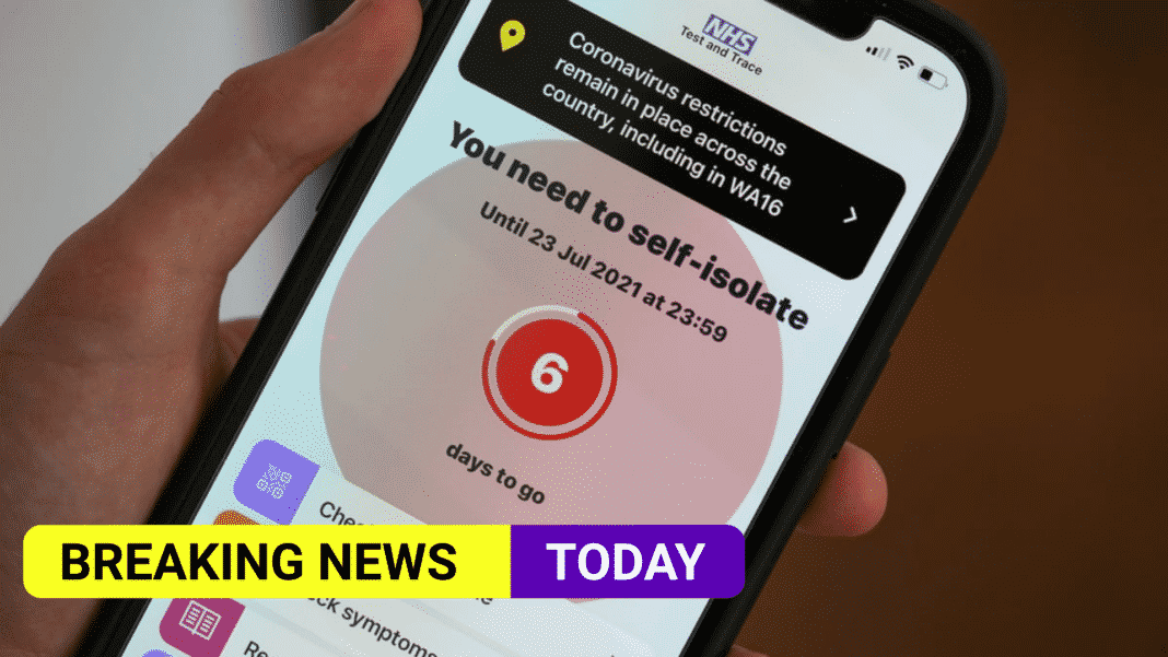 618,903 people in England and Wales pinged by NHS app in a week