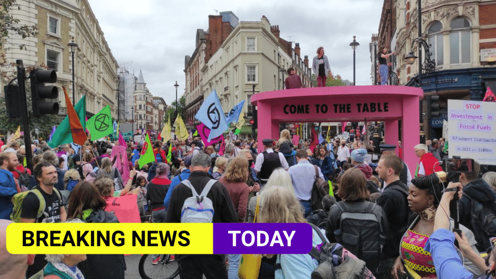 Extinction Rebellion begin two weeks of climate protests in London