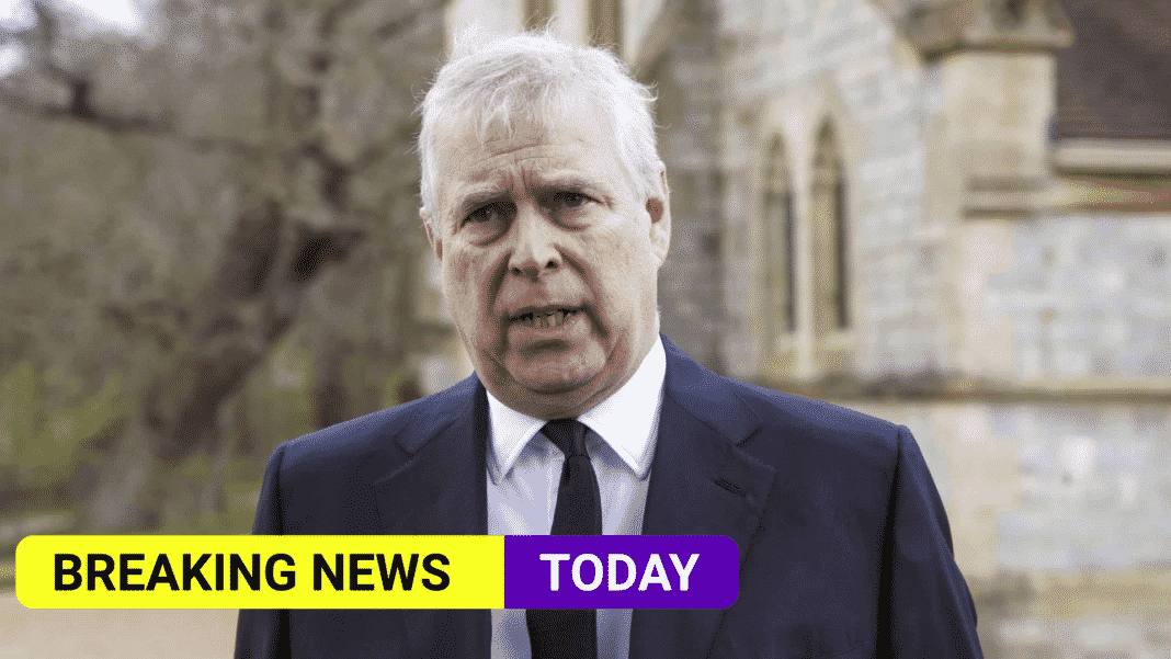 Prince Andrew to be served as UK accepts request in sex abuse case