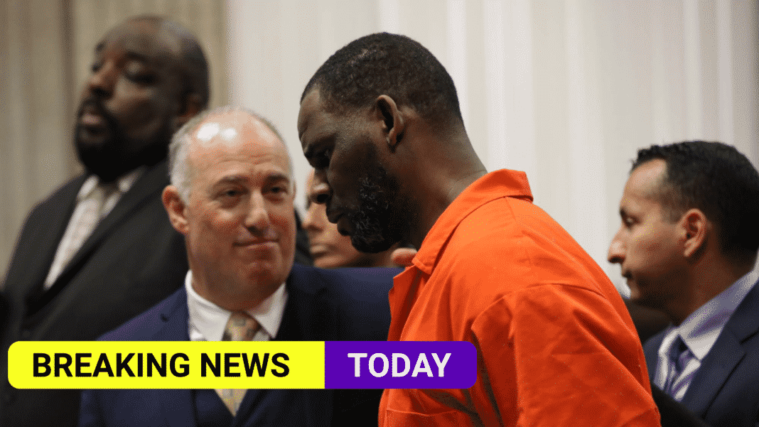 R Kelly is found guilty of child sex trafficking