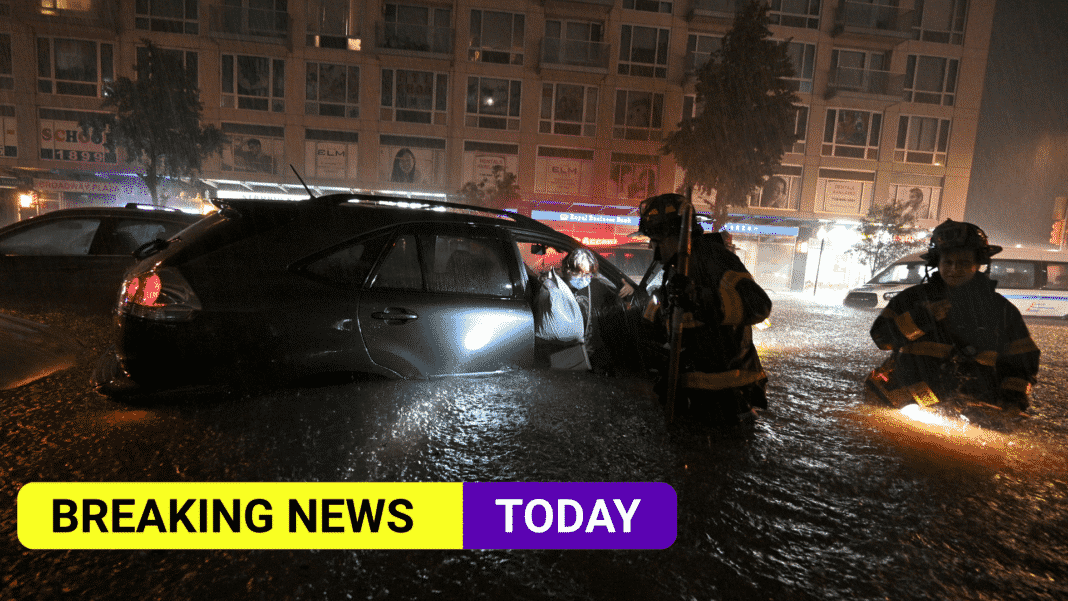 At least nine killed after month's worth of sudden rainfall in New York City