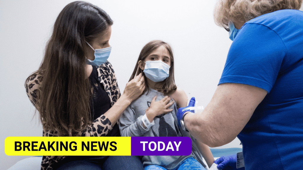 Covid vaccines should be offered to children 12-15, say medical officers