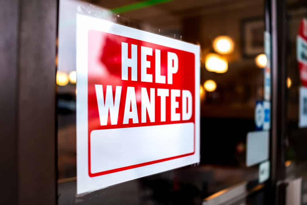 Staff shortages in the UK could last two years, says CBI