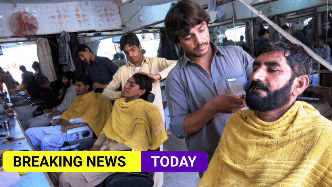 Taliban outlaws barbers within Helmand province from trimming beards