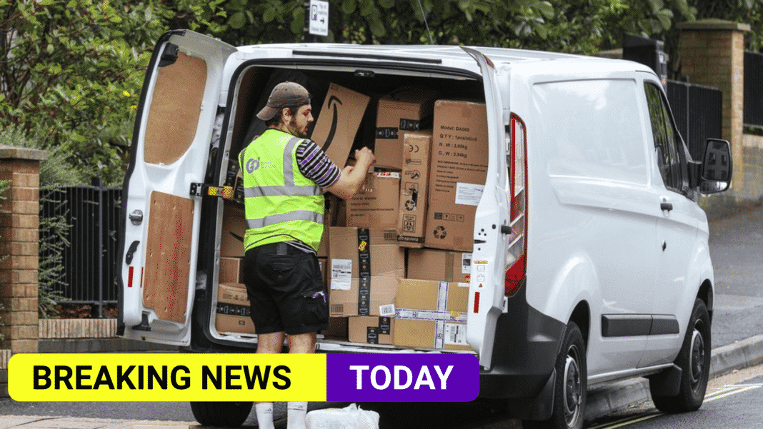 Amazon could owe delivery drivers £140m in rights claim, says UK law firm